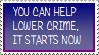 21. Help Lower Crime by Faro-Pantha