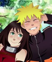 Naruto and Akiko- Commission