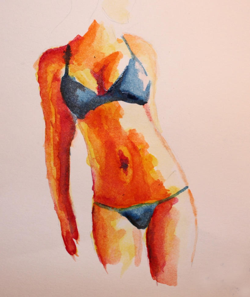 My first watercolor by demonisha on deviantart for My first watercolor painting