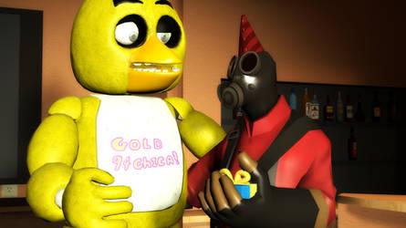 Happy 30th birthday Gold94Chica by Infernox-Ratchet