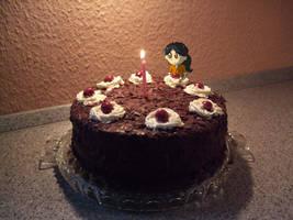 the cake is.... TRUE   +recipe by LittleKyvy