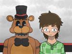 [FNAF] Freddy Fazbear and Frederic