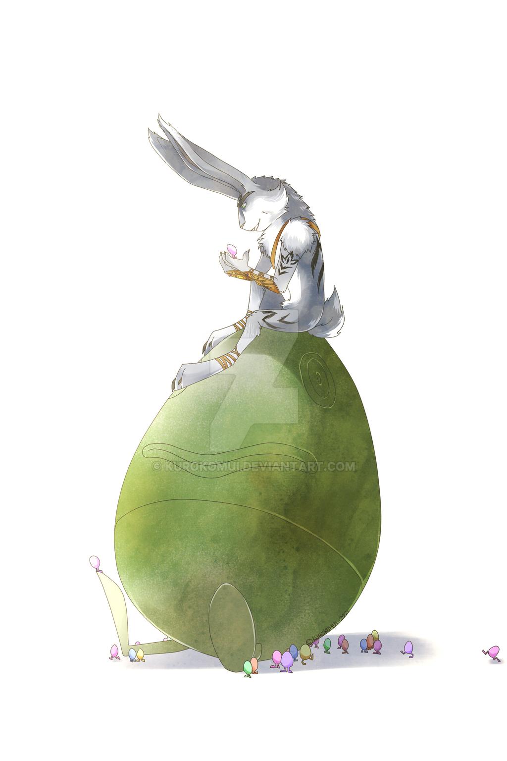 .:Easter Kangaroo:. by KuroKomui