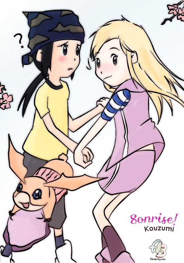 Kouzumi - Sonrisa! by Aerobrisy