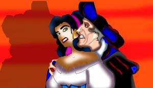 Frollo and Esmerelda