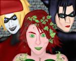 YRP: Gotham Sirens Dresspheres by GronHatchat
