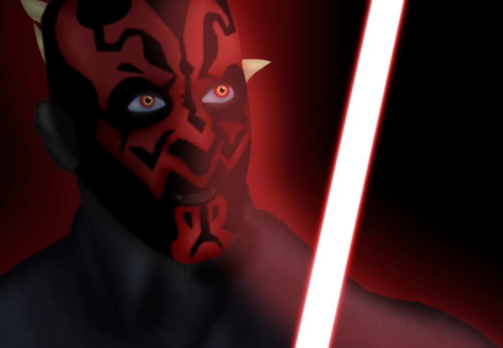 Darth Maul by GronHatchat