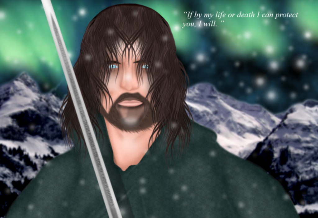 Aragorn by GronHatchat