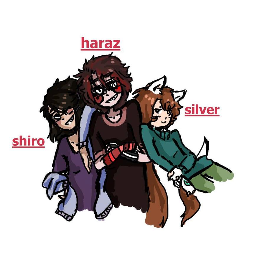 Shiro, haraz, silver  by llanispass