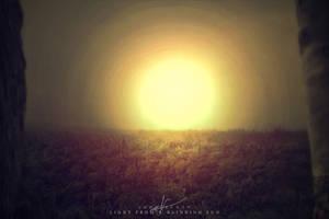 Light From A Blinding Sun by JohnScottGFX