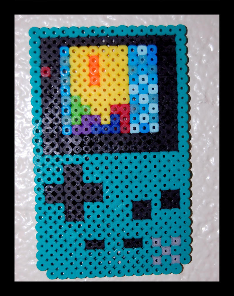 Gameboy color perler beads by maypoman