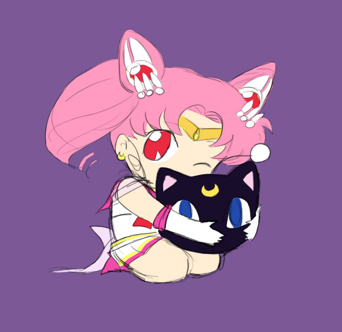 Sailor Chibimoon by librachik
