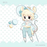 [OPEN]Adopt - Cutie kemono mouse! 10$SB or points! by Astra-adoptables