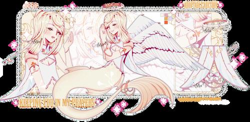 CLOSED* Angelic mermaid adopt - AUCTION by KateZabalArt