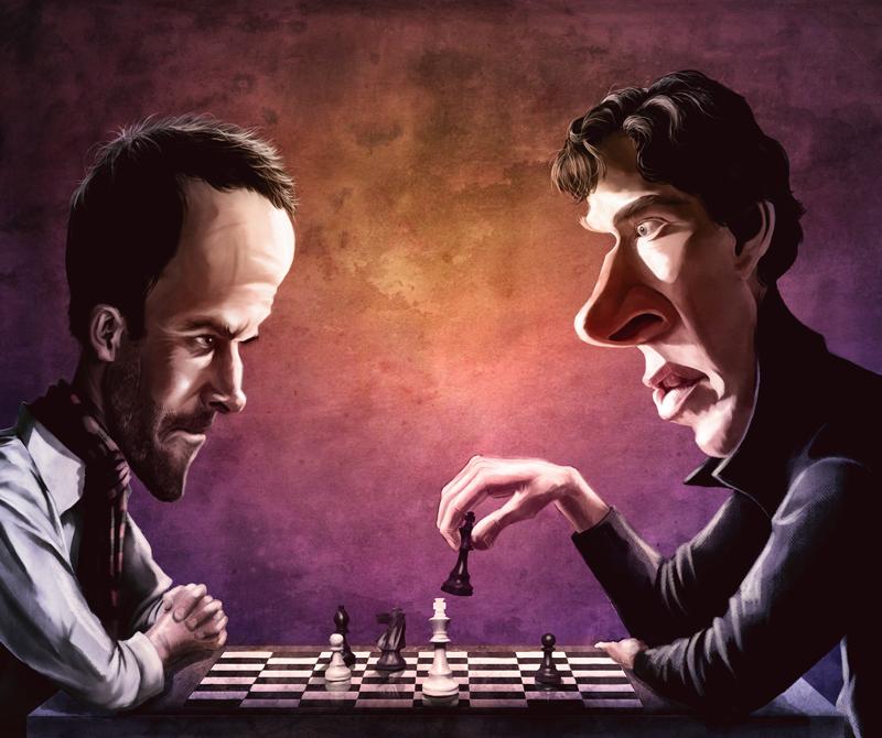 Elementary vs. Sherlock by DavidJacobDuke