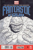 Fantastic Four: The Thing by DavidJacobDuke