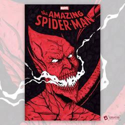 Red Goblin: Amazing Spider-Man 800 Sketch Cover by DavidJacobDuke