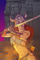 Red Sonja She-Devil with a Sword!