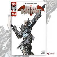 The Grim Knight Original Art Sketch Cover