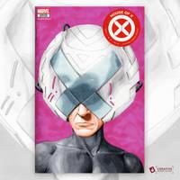 Professor X Original Art Sketch Cover