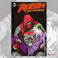 The Red Hood Jason Todd and Joker