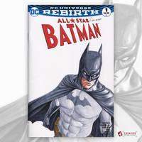 Batman Original Art Sketch Cover