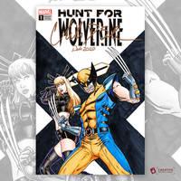 Wolverine Magik Original Art Sketch Cover