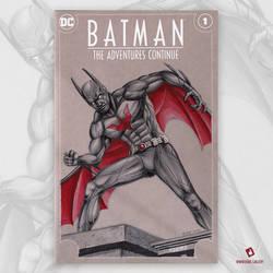 Batman Beyond Original Art Sketch Cover