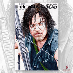 The Walking Dead Original Art Sketch Cover