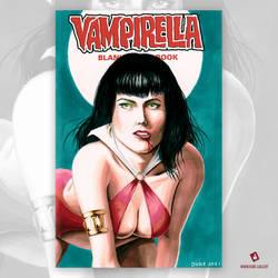 Vampirella Original Art Sketch Cover