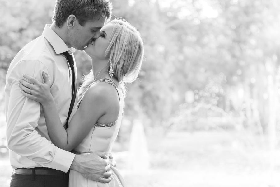Engagement Kiss by InfuzedMedia