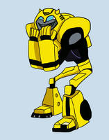 bumblebee by water-wing