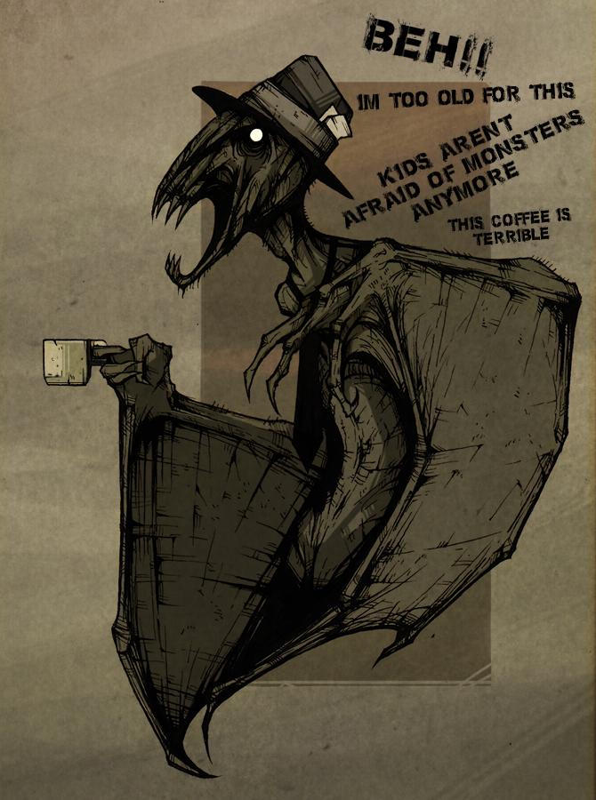 Retired Nosferatu by ThePsychoGoat