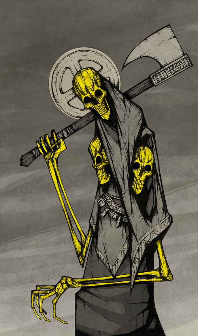 Yellow Saints by ThePsychoGoat