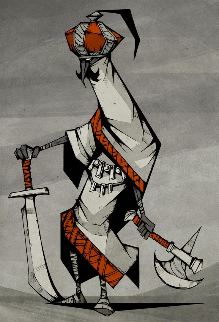 Desert Mercenary by ThePsychoGoat