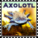 Axolotl or 'Mudkips'? Stamp by 1389AD