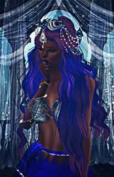 Moonlight dame by LucilliaSnowfox
