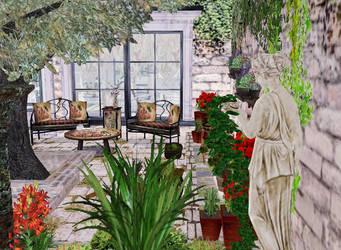 Private garden by LucilliaSnowfox