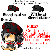 (LATEHalloweenspecial)maplestory edit hat ~Lizette by Daisuki-Shiro