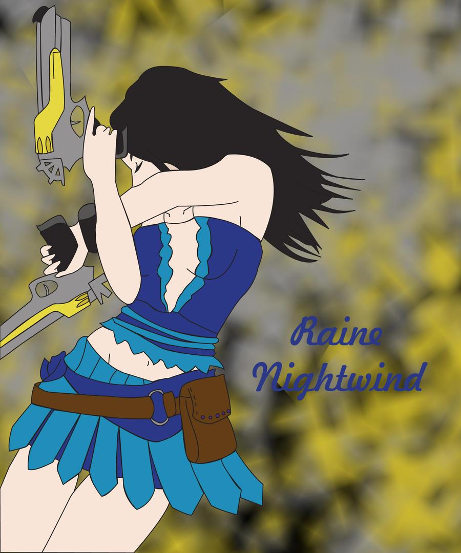 My OC for Final Fantasy X-2 by RaineNightwind on DeviantArt