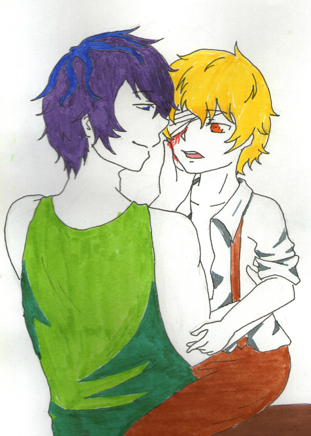 Garry and Dio by TayaNoa