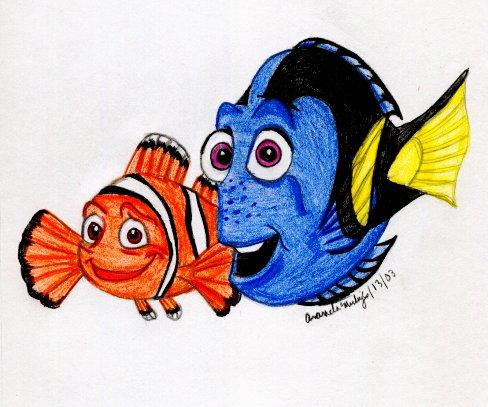 Dory and Marlin