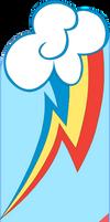 Rainbow Dash Bookmark