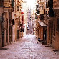 Streets of Valletta by Frances23