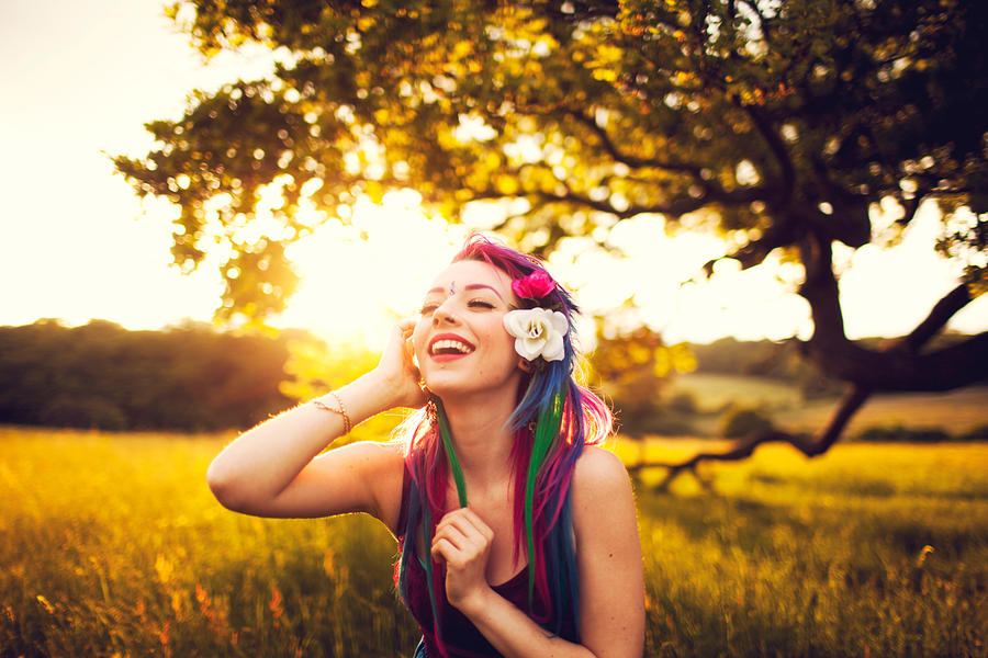 smile at the rainbow
