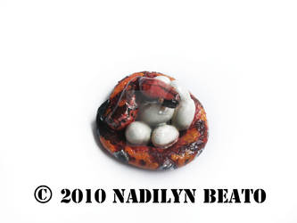 Redheaded Blood Python Mommy by NadilynBeato