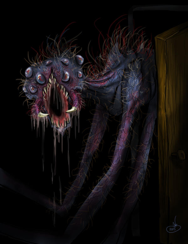 Monster in the Closet by NadilynBeato