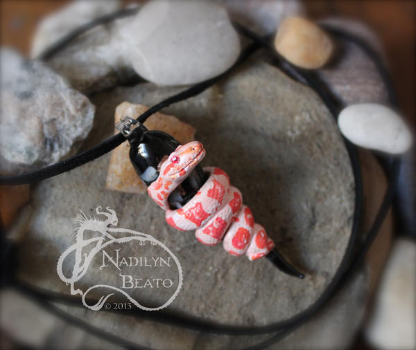 Sunglow Boa Pendant by NadilynBeato