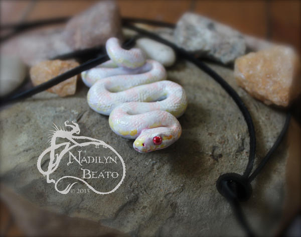 Corn snake pendant by nadilynbeato on deviantart corn snake pendant by nadilynbeato aloadofball Images