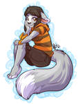 Sitting Neko
